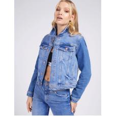Джинсовая женская куртка Guess