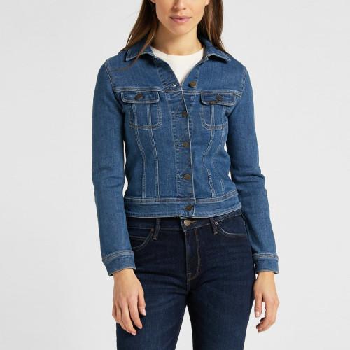 Джинсовая женская куртка Lee