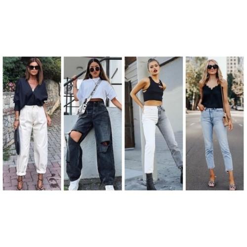 Что по трендам? Выбираем модные джинсы