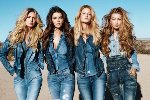 Купить джинсы guess